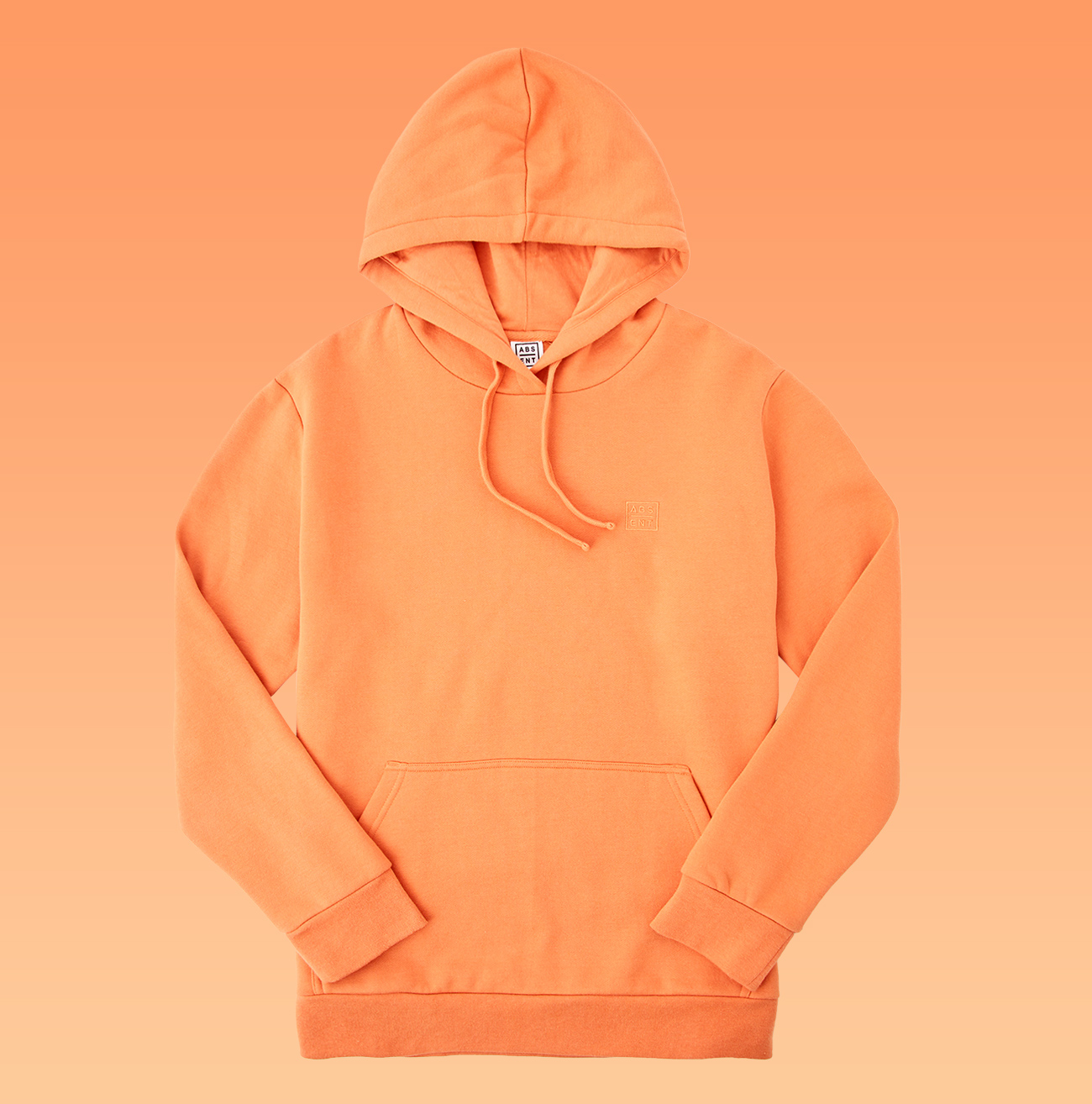 Orange Absent Basic Sweat $39.99