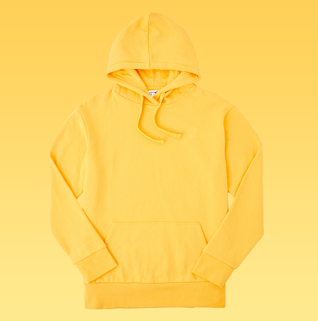 Yellow Absent Basic Sweat $39.99